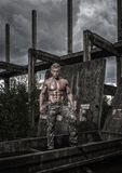 Fit male model Royalty Free Stock Images