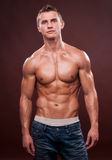 Fit male model Royalty Free Stock Photo