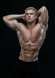 fit male modell Royaltyfri Foto