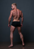 fit male modell Royaltyfria Bilder