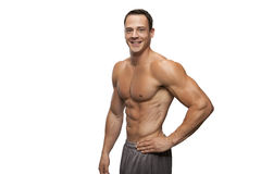 Fit Male smiling Stock Photo