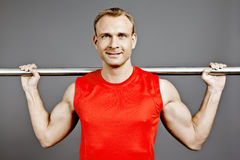 Fit man Stock Photography