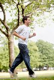 Fit man jogging Royalty Free Stock Photography