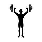 Fit man silhouette icon image. Vector illustration design Stock Photo