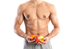 Fit, muscular male body Stock Photo