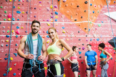 Free Fit People Getting Ready To Rock Climb Royalty Free Stock Photography - 60906557