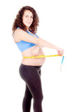 Fit pregnant woman Royalty Free Stock Photos