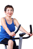 Fit Senior Woman Stock Photography