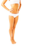 Fit and slim female body Royalty Free Stock Photography