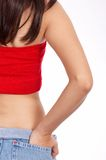 Fit and slim woman Royalty Free Stock Photography
