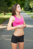 Fit teen beauty. Royalty Free Stock Image