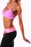 fit torso för kvinnlig Arkivfoton