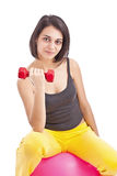 Fit woman Royalty Free Stock Image