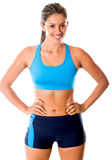 Fit woman Stock Images