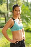 Fit woman Royalty Free Stock Photography