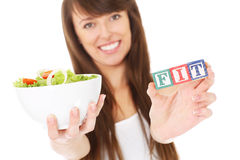 Fit woman Royalty Free Stock Photo