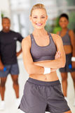Fit woman posing Royalty Free Stock Photography