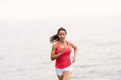 Fit woman running Royalty Free Stock Photography