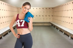 Fit Woman Standing Royalty Free Stock Photo