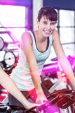 Fit woman working out at class Stock Photo