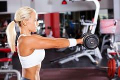 Fit woman workout Stock Photos