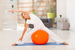 Fit woman workout Royalty Free Stock Photo