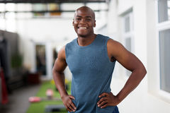 Fit young african man Stock Image