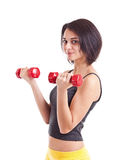 Fit young lady Stock Images