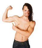 Fit young man Stock Photo