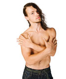 Fit young man Stock Images