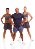 Fit young people Stock Photography