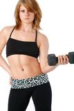 Fit young woman Stock Photography