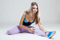 Fit young woman Royalty Free Stock Images