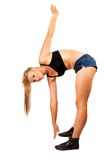 Fit young woman doing workout Royalty Free Stock Photo