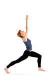 Fit Young Woman doing Yoga Exercise Royalty Free Stock Photo