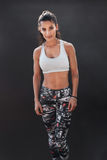 Fit young woman in sports wear Royalty Free Stock Photo