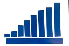 Fita adesiva azul Imagens de Stock Royalty Free