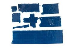 Fita adesiva azul Imagem de Stock Royalty Free