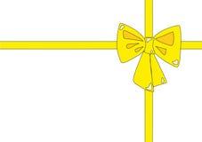 Fita amarela Fotos de Stock Royalty Free