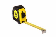 Fita amarela da medida Fotografia de Stock