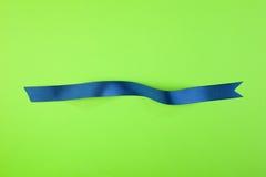 Fita azul Fotografia de Stock