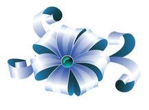 Fita azul Fotografia de Stock Royalty Free