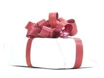 Fita branca do vermelho do pacote imagens de stock royalty free