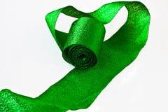 Fita brilhante verde foto de stock royalty free