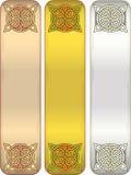 Fita com celtic um ornamento ilustração royalty free
