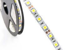 Fita conduzida das luzes Imagem de Stock