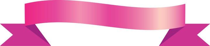 Fita cor-de-rosa ilustração do vetor