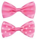 Fita cor-de-rosa com curva lindo Foto de Stock Royalty Free
