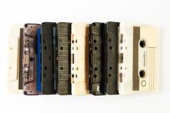 Fita da cassete áudio do vintage Imagens de Stock Royalty Free