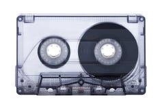 Fita da cassete áudio isolada no fundo branco Imagens de Stock Royalty Free